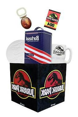 Jurassic Park Looksee Regalo Scatola Include 5 Collectibles